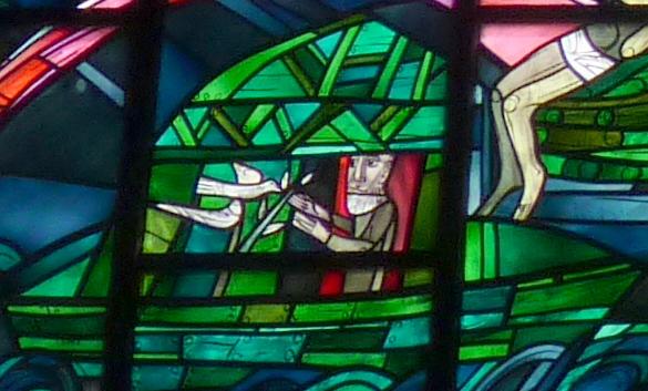 Noah mit der Taube