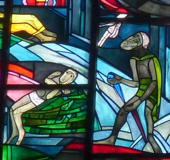 Abraham mit dem Messer