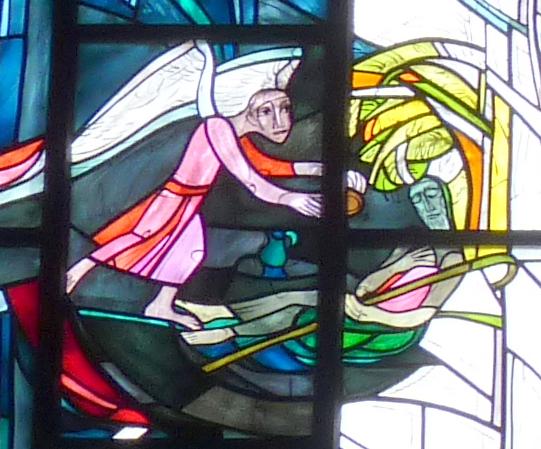 Der Engel erscheint Elia