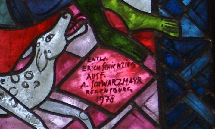 Die Kirchenfenster der Stadtpfarrkirche Nittenau