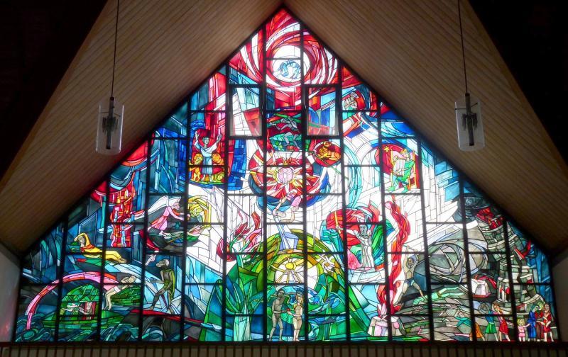 Das Fenster des alten Testaments