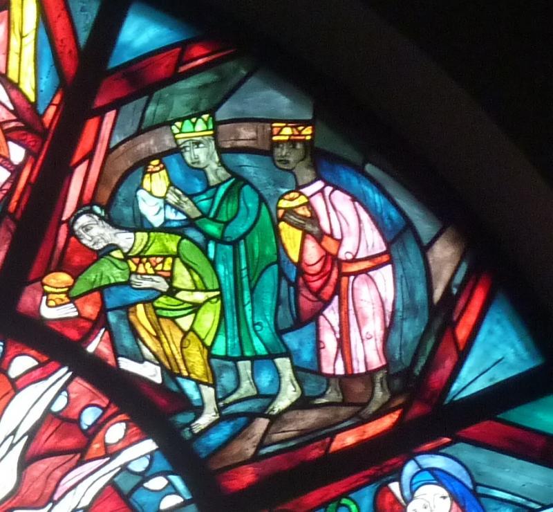Anbetung durch die Heiligen Drei Könige