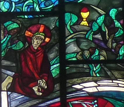 Jesus betet den Kelch an ihm vorübergehen zu lassen