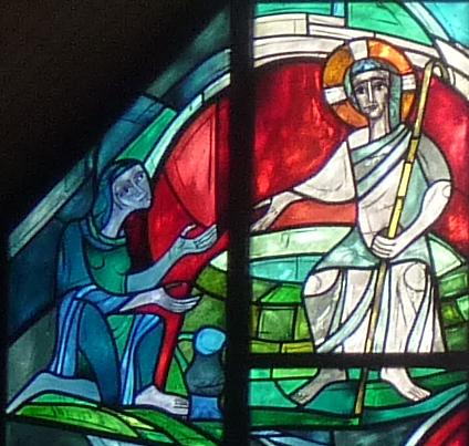 Begegnung Jesu mit der Samariterin am Brunnen