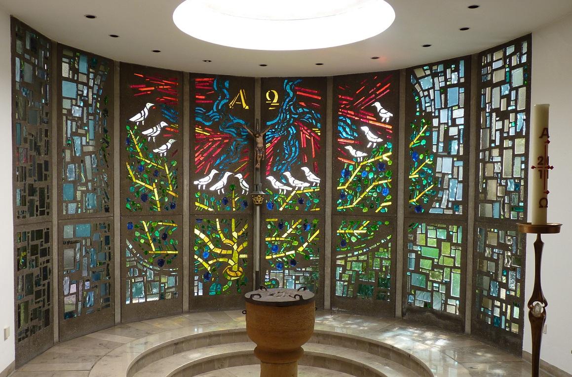 Das Fenster der Taufkapelle