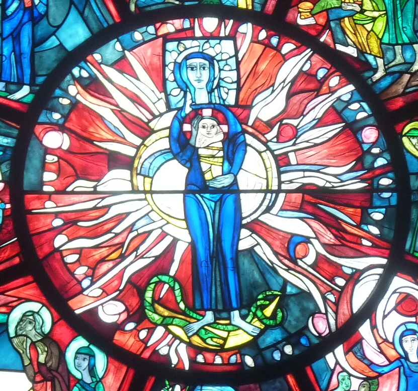 Muttergottes mit dem Jesuskind auf dem Arm